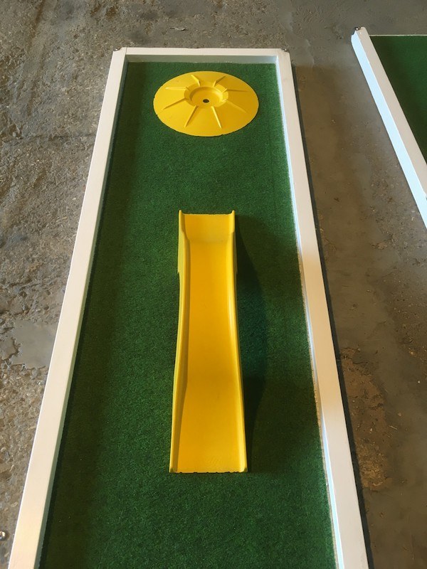 Secondhand Mobile 9 Hole Crazy Golf Activity