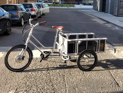 Cargo / load carrier trike electric