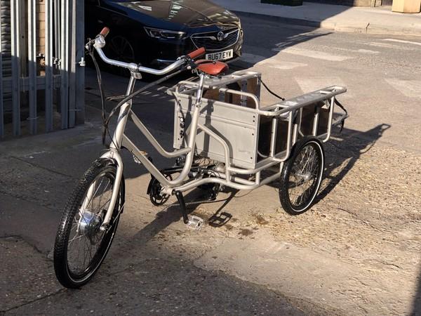 Aluminium Electric cargo bike for sale