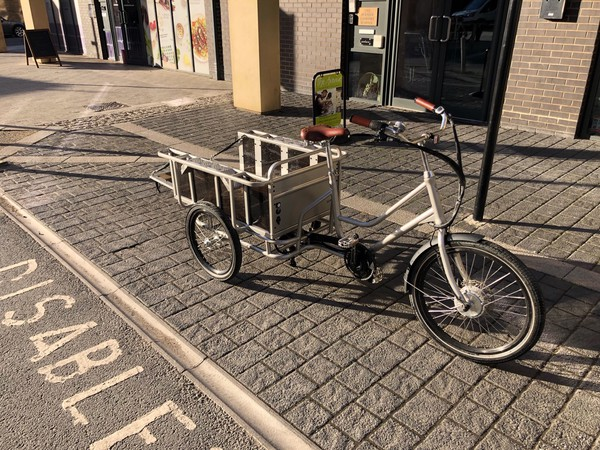 Aluminium Electric cargo tricycle for sale