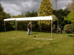 3m x 12m Clearspan Modular Canopy