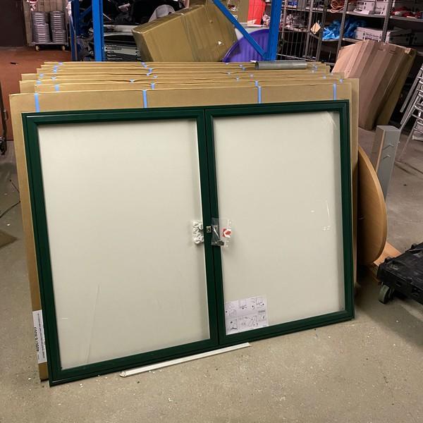 Menu display case