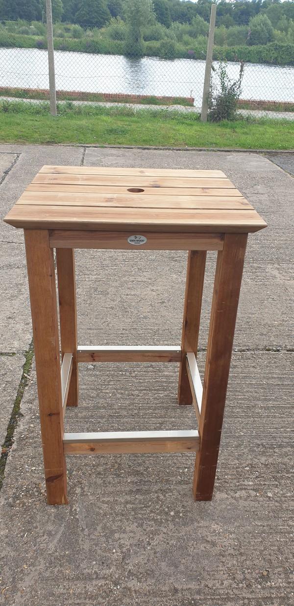 Eden Wood high bar tables