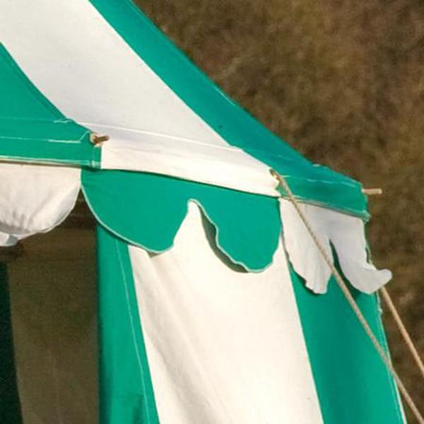 Canvas Pavilion Medieval campaign tent