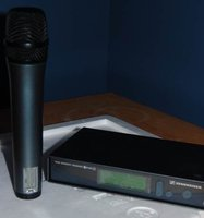 Sennheiser EW300 Hand Held Wireless Microphone and Receiver Set