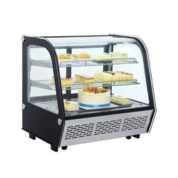 Counter top display refrigerated