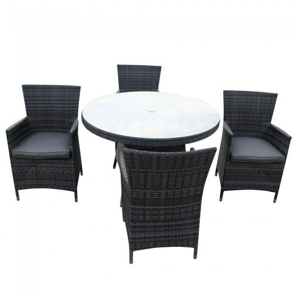 Grey rattan outdoor furniture for sale
