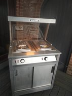 Victor meat carvery trolley