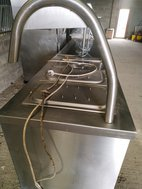 Carvery trolley on wheels