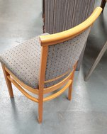 Used Grey / blue dining chairs