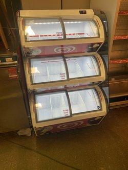 Walls Ice cream three deck fridge