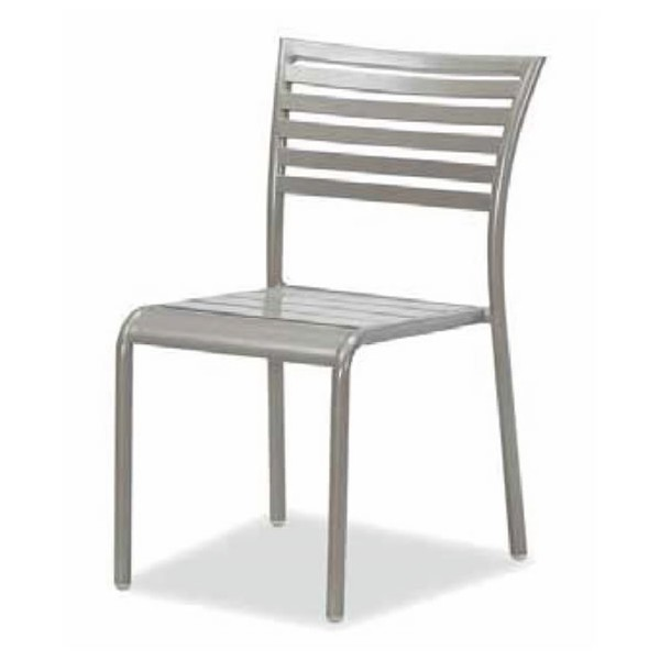 Stacking aluminium outdoor chairs for sale