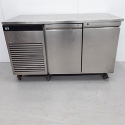 Two door bench fridge for sale