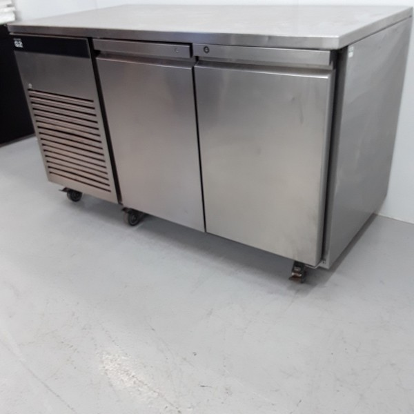 Stainless steel bench fridge