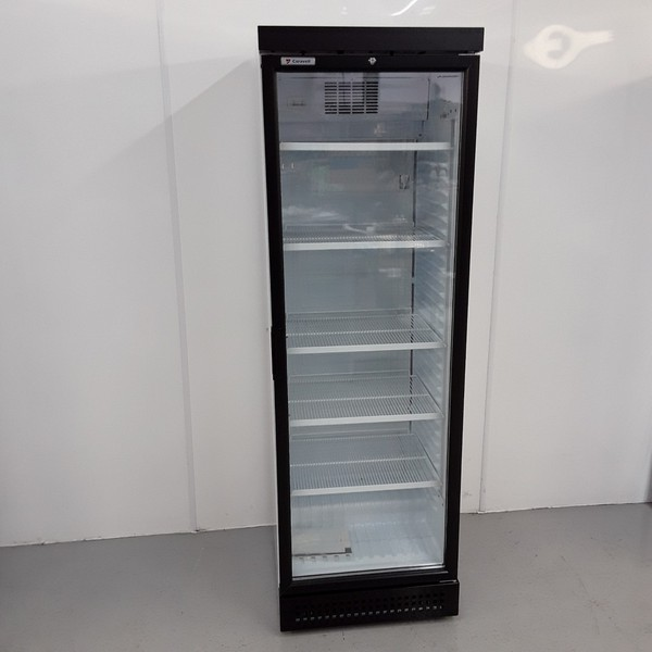 Tall display fridge