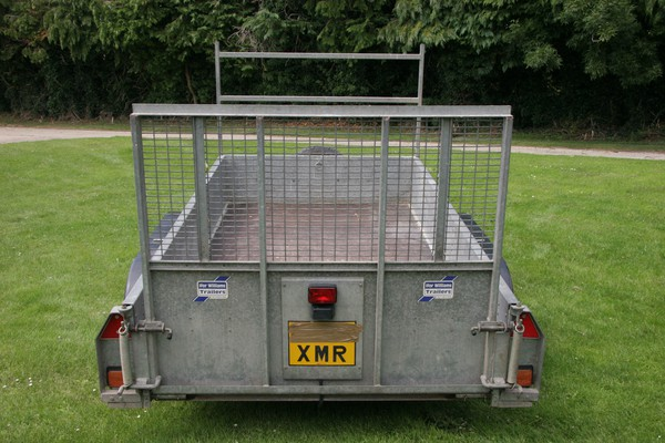Ifor Williams trailer with ladder rack