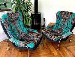 70's Chairs by Bruno Matthson