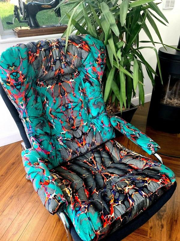 Timorous Beasties velvet chairs