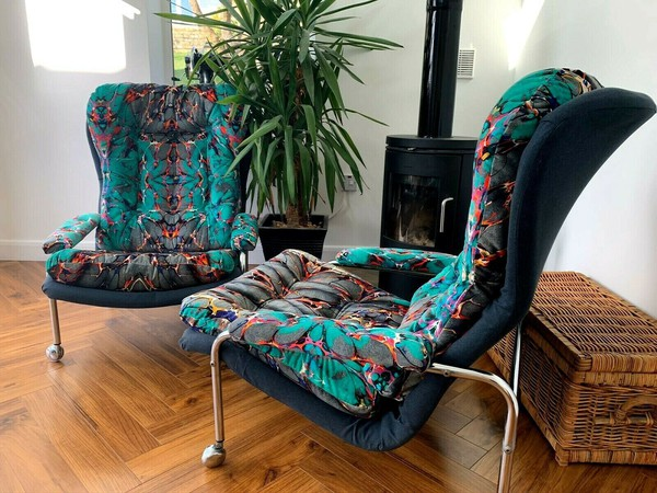 Vintage 70's chairs for sale