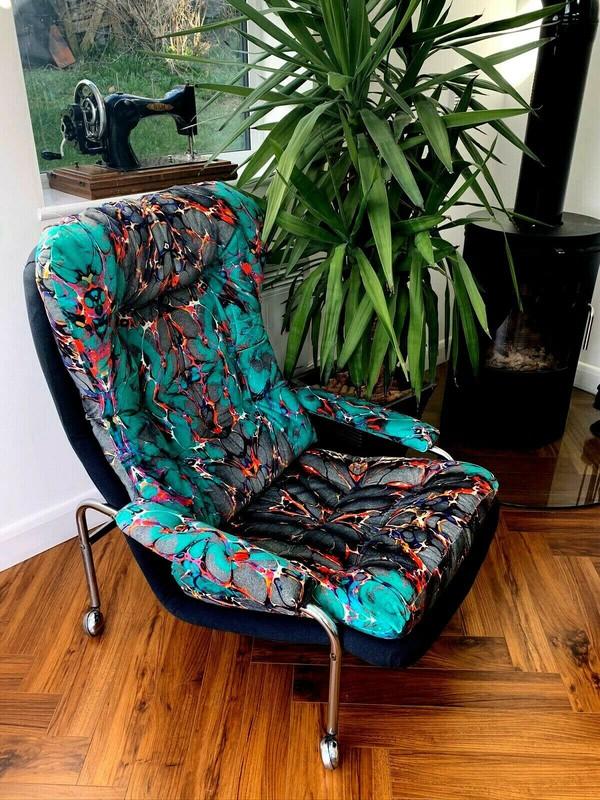 vintage Bruno Mathson chairs