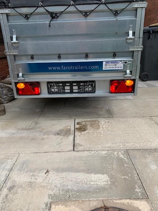 750kg general purpose Galvanised steel trailer