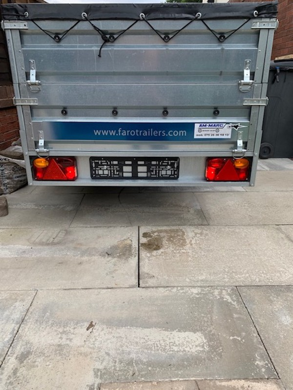 Tractus Trailer by Farotrailers for sale