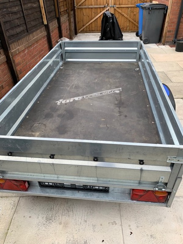 Used Tractus Trailer by Farotrailers