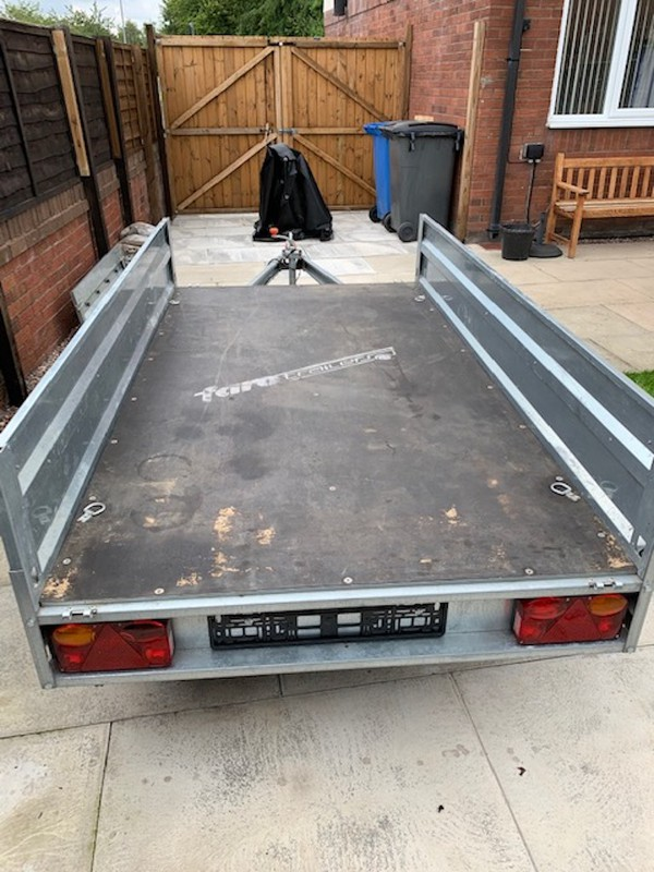 Buy Used Tractus Trailer by Farotrailers