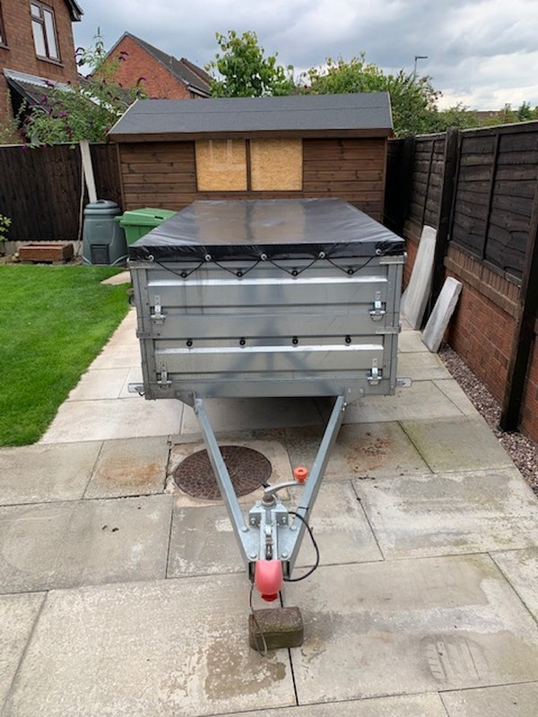 Used Tractus Trailer by Farotrailers for sale
