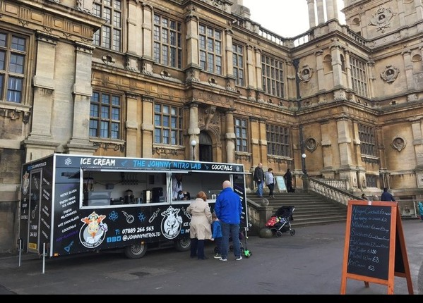 Stately home Catering trailer business for sale