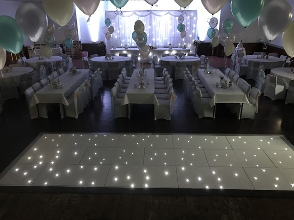 LEDJ Dance floors for sale Durham