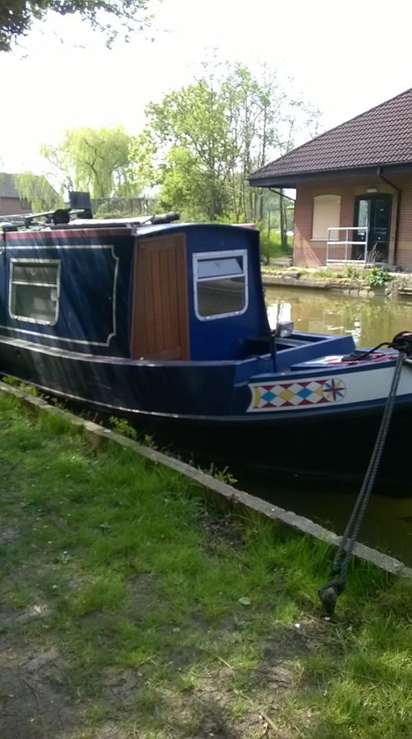 Cheap narrow boat for sale