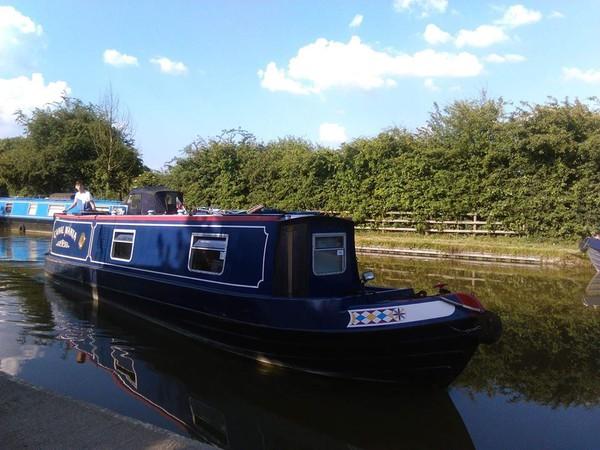 40ft Canal Boat For Sale Milton Keynes