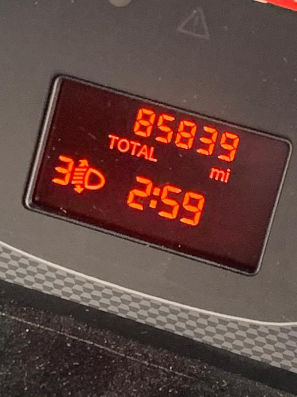 Low Milage Fiat Doblo