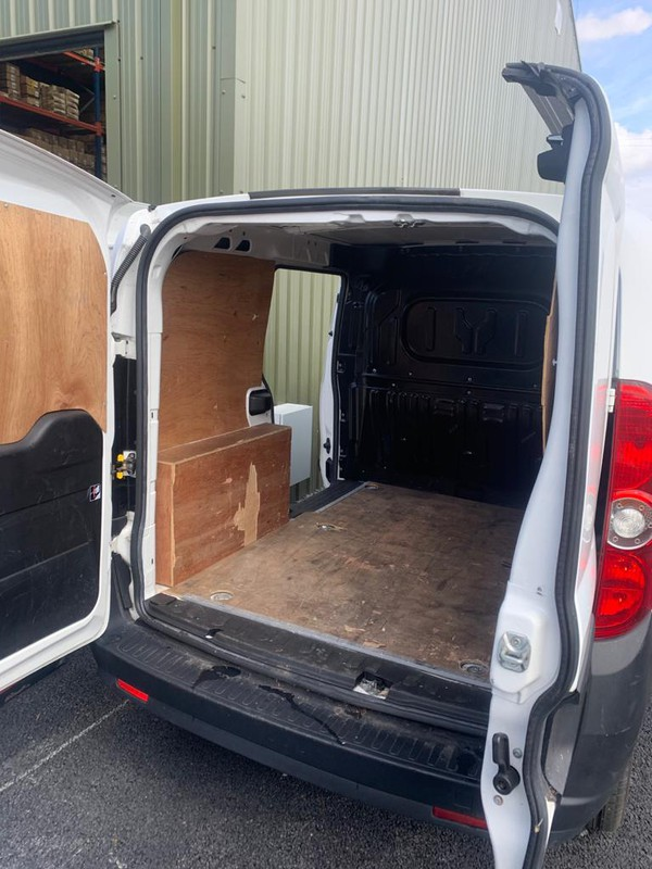 Small plywood lined van for sale