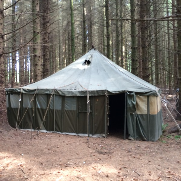 used army tents