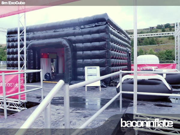 8m x 8m Exo Cube Inflatable Structure Including Roof