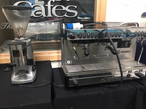 LaCimbali Coffee Machine With Espresso Italiano Grinder