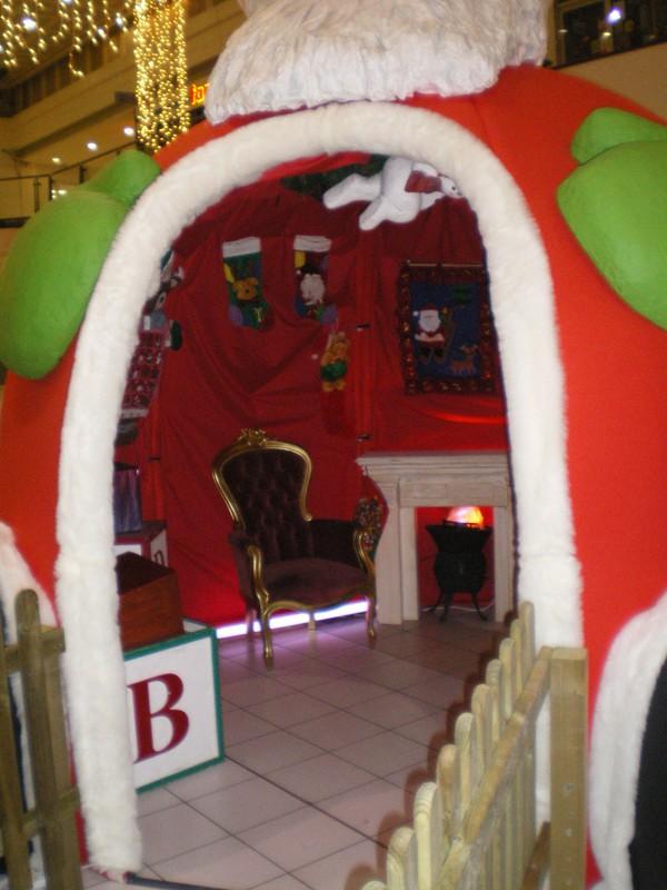 Christmas Grotto for Father Christmas