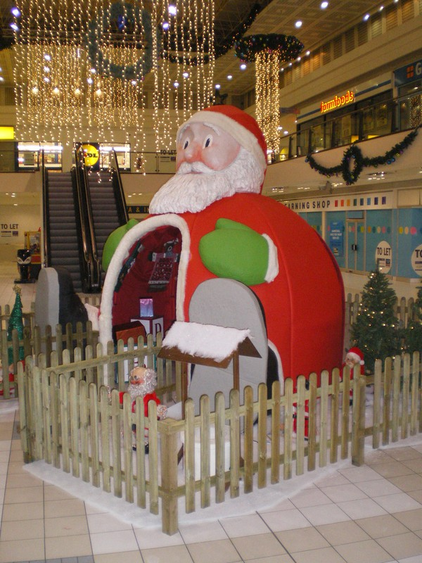 Shopping Centre Christmas Grotto for sale
