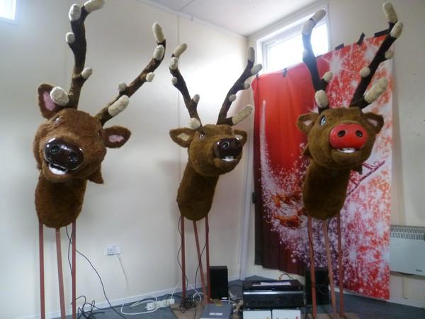 Animatronic reindeer for sale