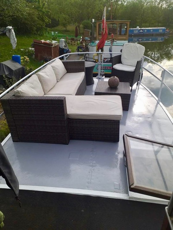 Out door seating area