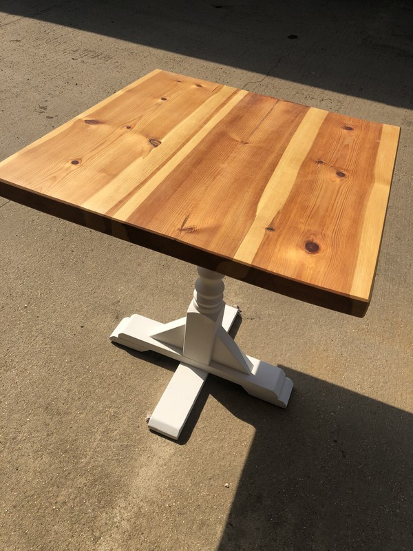 Solid wood cafe tables for sale