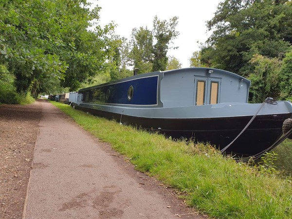 60ft Newly Fitted Widebeam Barge Boat -