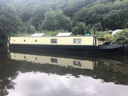 50ft Narrowboat Canal House Boat