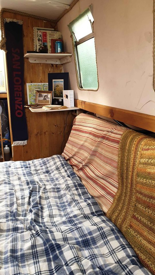 25ft canal boat for sale