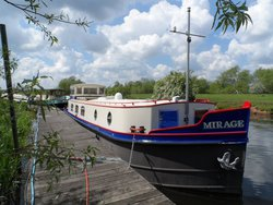 60ft x 12ft Stern Wheelhouse Replica Dutch Barge