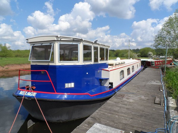 Stern Wheelhouse Replica Dutch Barge