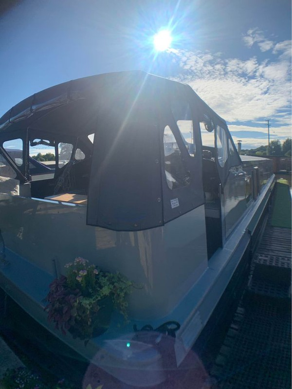 Widebeam boats for sale