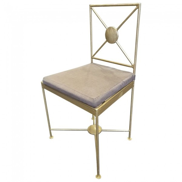 Metal Dining Chairs for sale